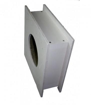 protection thermique pour traversée de paroi épaisseur 120mm