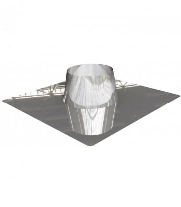 Solin inox pour toit plat