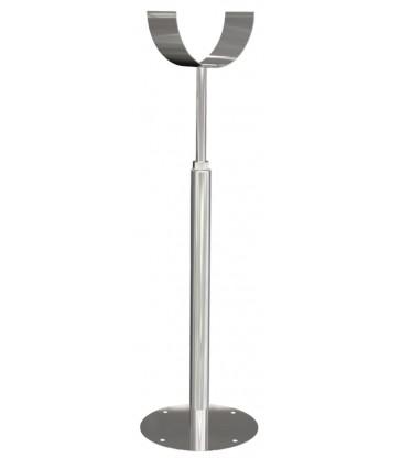 Pied d`appui avec support demi-rond 1000-1750mmmm