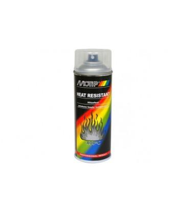Peinture Hte température Spray 400ml Gris