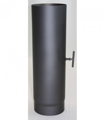 Tube suppl 500 mm Clé Tirage Gris NO DTU