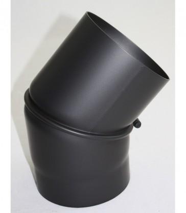Coude réglable 0-45 ° Noir