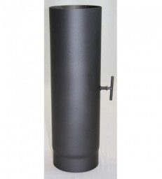 Tube suppl 500 mm Clé Tirage Noir NO DTU