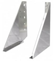 Pack cheminée Double paroi Isolée Ø160mm Fixation murale
