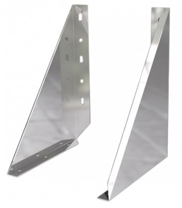 Pack cheminée Double paroi Isolée Ø150mm Fixation murale