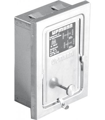 Régulateur de tirage rectangulaire 120/180mm