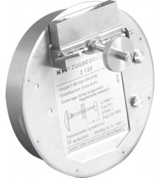 Régulateur de tirage rond Ø 180mm