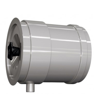 élément d'écoulement des condensats avec couvercle et joint viton max 200°