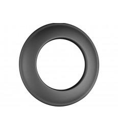 Rosace finition 70mm Noir