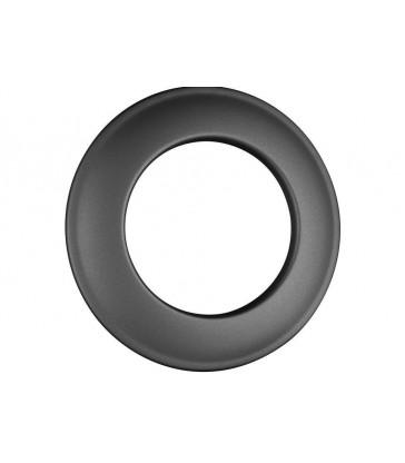 Rosace de finition de 70 mm Noir
