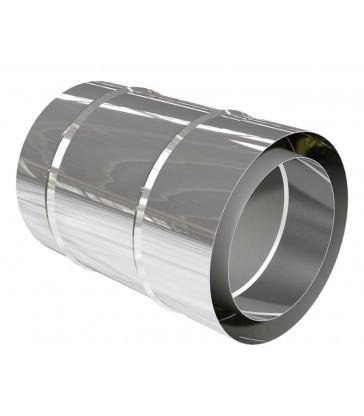cheminée inox L360mm ép. 0,6mm double paroi isolé 25mm 360mm