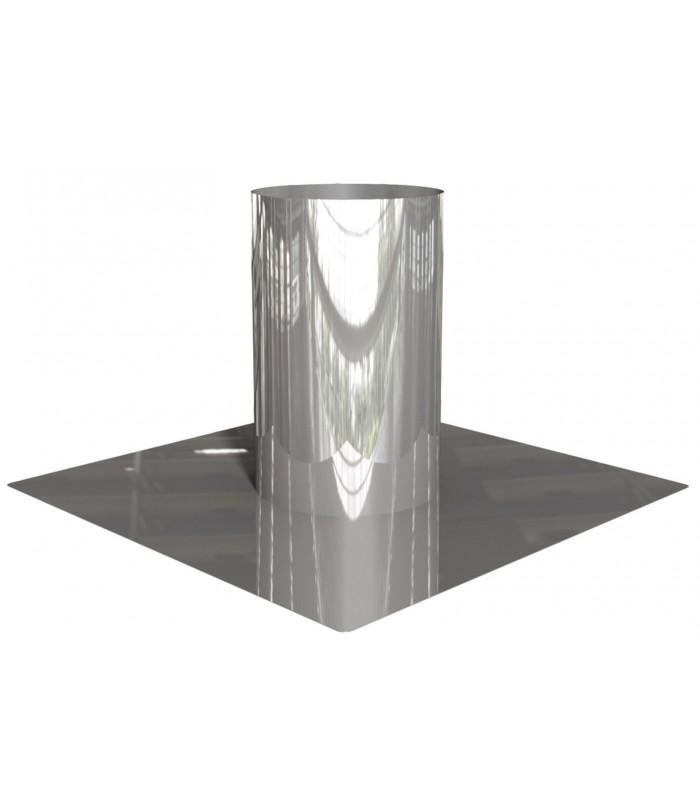 Sortie toiture ≤6° L400mm - Eka Edelstahlkamine