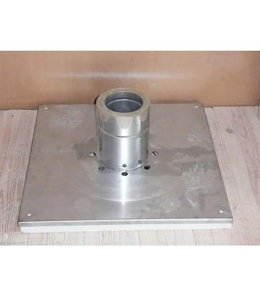 Pack cheminée Double paroi Isolée Ø160mm Départ Plafond