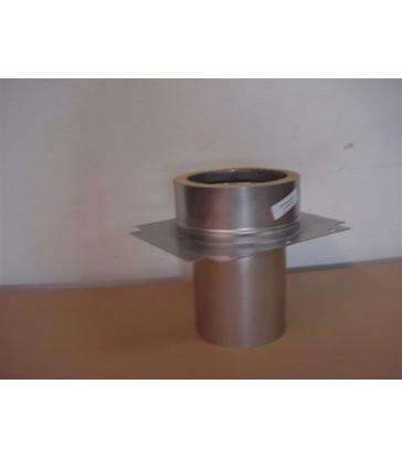 Kit cheminée poêle de masse ou four 250mm