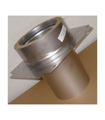 Kit cheminée poêle de masse ou four Diam 150 mm